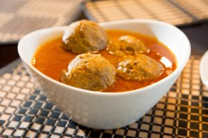 meatball curry - kundaan koftee - egg curry